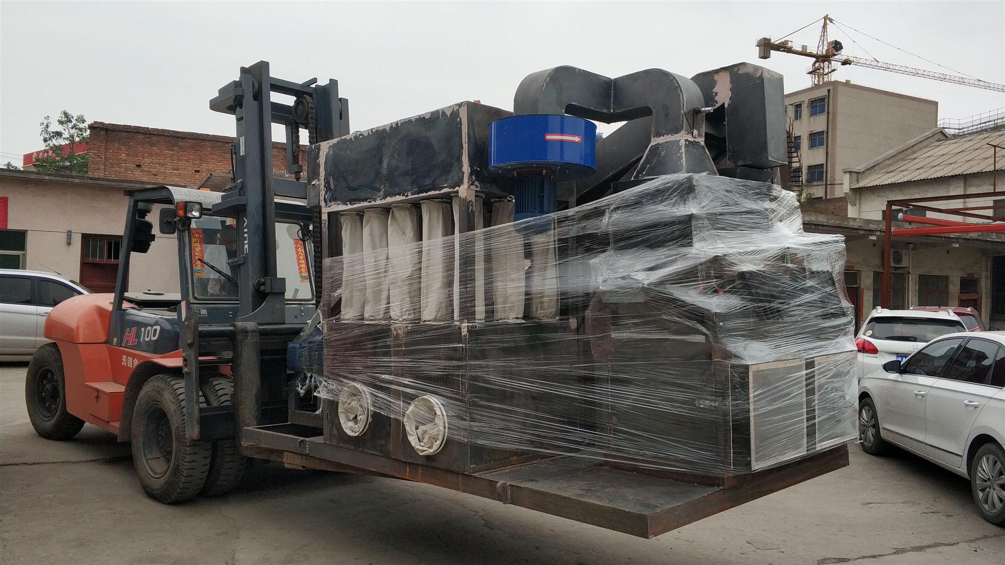 600型铜米机发货台湾