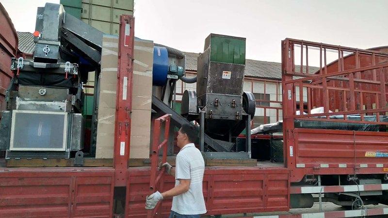环保铜米机发货四川客户