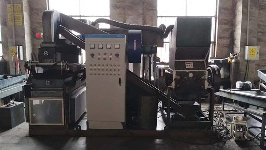 环保铜米机、强力除铁设备发货广东客户